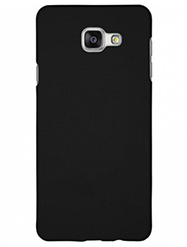 save off eec74 e96cb Johra Samsung Galaxy On Nxt (2016) Back Cover, Slim Matte Finish Rubberized  Black Hard Back Case Cover for Samsung On Nxt Back Cover