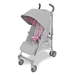 Maclaren Passeggino Quest - Super accessoriato, leggero, compatto. Newborn Safety System™, compatibile con la Culla portatile Maclaren, cappottina estensibile UPF 50+/impermeabile, accessori inclusi. 17
