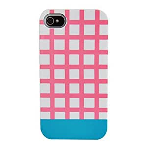 Mini - Simple London Style Silicone Back Case for iPhone 4/4S0 , Color: Black