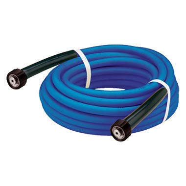 Fairview Fittings PW3K-6-50 Pw3 Karcher Style Assemblies 3/8 Id, M22 X 1.5 Both Ends, 3000 Psi, Blue, 50 Ft Long