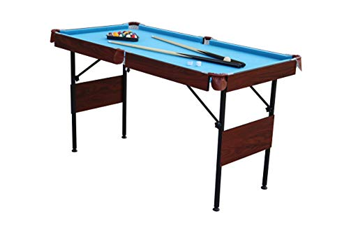 """Playcraft Sport 54"""" Pool Table with Folding Legs and Playing Equipment"""