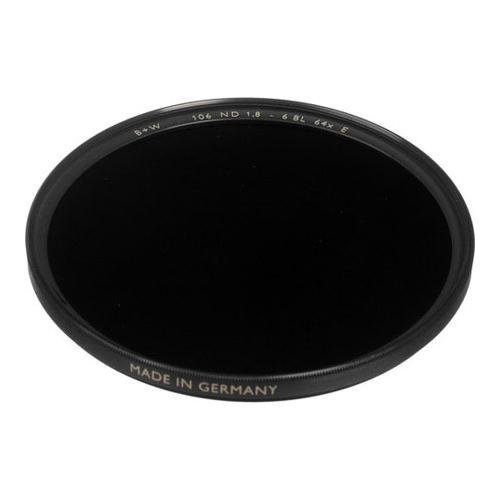 B+W 82mm #106 1.8 (64X) Neutral Density Glass Filter with Single Coating by B+W