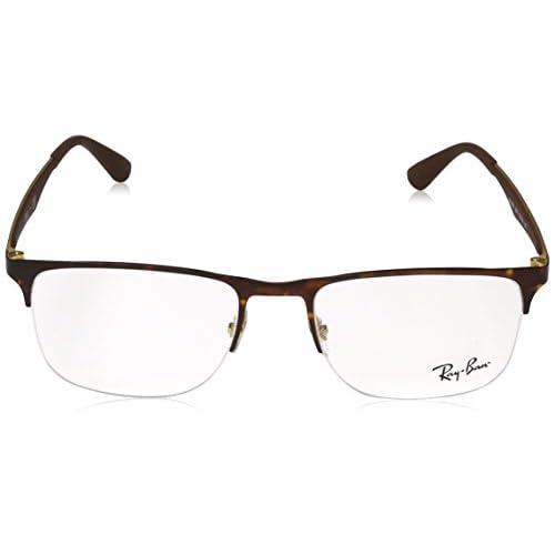 eb514c268a Ray-Ban 0Rx6362, Monturas de Gafas para Hombre, Gold/Top Havana, 53 ...