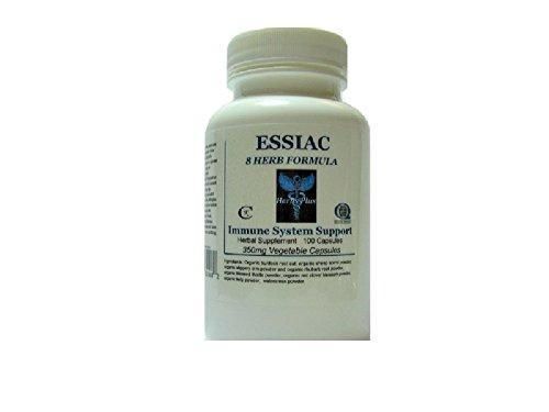 Essiac 8 Herb Formula Herbal Capsules Organic 100 ()