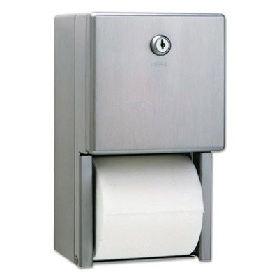 BOB2888 - Bobrick Stainless Steel Two-Roll Tissue Dispenser