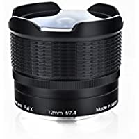 Rokinon RMC12-FX RMC Multi-Coated 12mm F7.4 Fisheye Lens for Fuji X