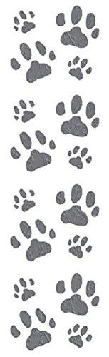 Scrapbooking Kitty Cat - Mrs Grossman's Stickers - Cat Paw Prints