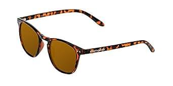 Northweek Wall Tortoise - Gafas de Sol para Hombre y Mujer, Polarizadas, Tortoise/Ámbar