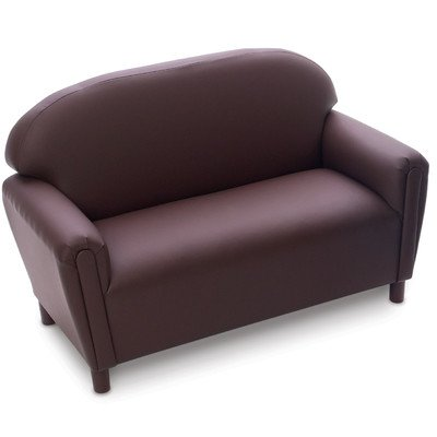 Brand New World School Age Enviro-Child Upholstery Sofa  - Chocolate