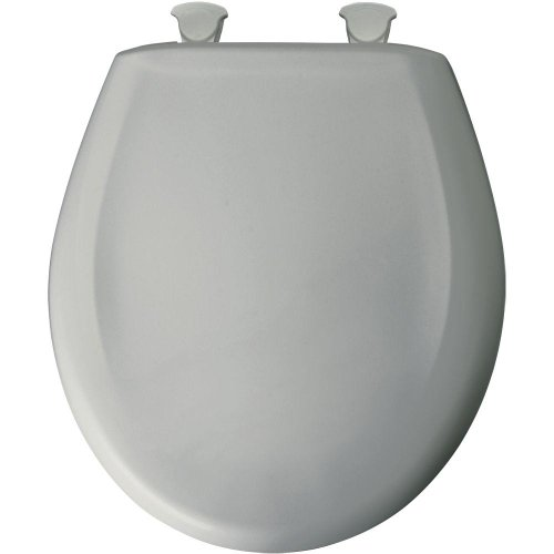 Wholesale Bemis 200SLOWT 062 Round Closed Front Toilet Seat, Ice Grey for cheap