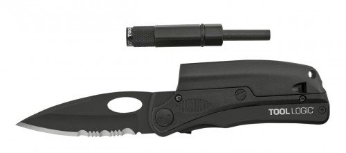 Sog Slpro Folding Knife Toollogic Slpb2 Tactical Black 3