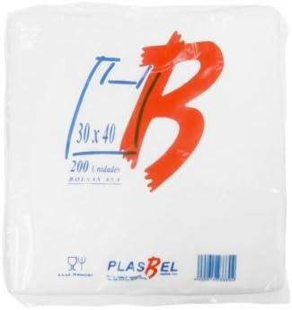 Bolsas de Plastico Asa Camiseta (30 x 40 cm. (200 unidades))