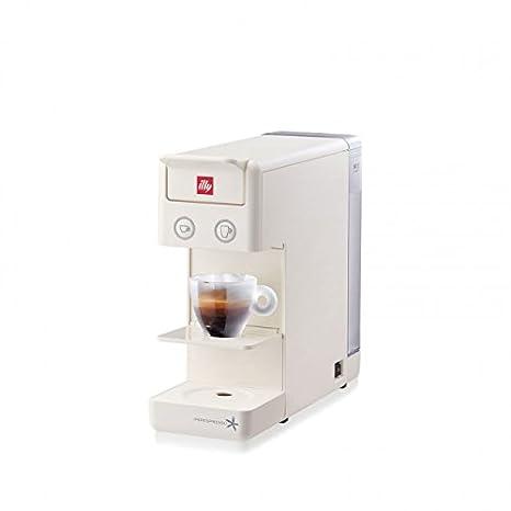 Máquina de café de cápsulas illy Modelo Y3.2 Iperespresso) Color Blanco, Máquina