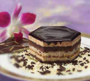 Sweet Street European Opera Cake 2.5 ounces (Pack of 48) by Sweet Street Frozen (Image #1)