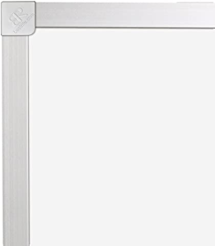 Best-Rite ABC Classroom Dry Erase Porcelain Steel Magnetic Markerboard Without Marker Tray, 4 x 8 Feet Markerboard - Dry Erase Classroom