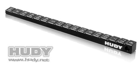 (Hudy Ultra Fine Chassis Ride Height Gauge)