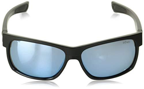 Revo Re 5011x Camden Polarized Sport Sunglasses Rectangular, Matte Black 60 mm