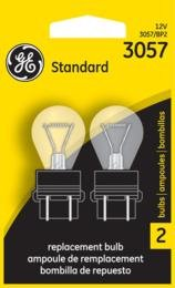 Ge Miniature Lamps Bulb No. 3057bp 12 V 2 / Carded