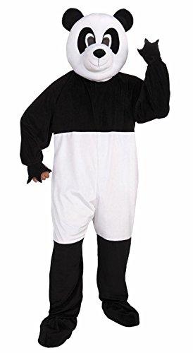 Forum Promotional Mascot Panda Costume, Black/White, Standard