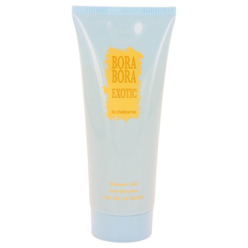 Bora Bora Gel Perfume - Bora Bora Exotic Perfume By Liz Claiborne 3.4 oz Shower Gel For Women - 100% AUTHENTIC
