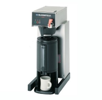 Bloomfield 1080TF E.B.C Coffee Brewer, Three Warmer, In-Line, 17'' Depth, 10'' Width, 25.5'' Height by Bloomfield