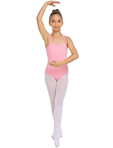 (luxilooks Camisole Leotard for Girls' Dance Ballet Undergarment with Adjustable Straps 4-13 Years)