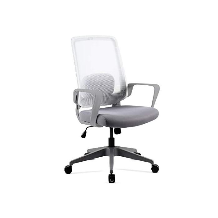 31s7IU  hyL Respaldo ergonómico y cojín incluido Pistón de gas que permite regular la altura del asiento Fácil y sencillo montaje