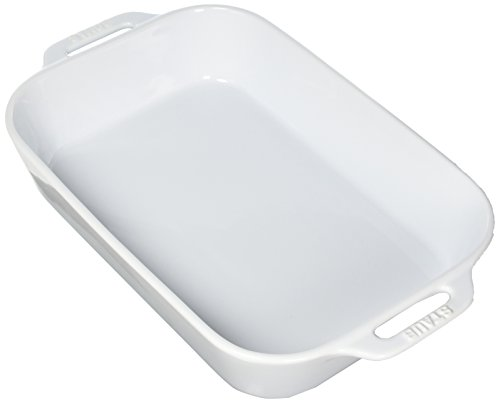 "Staub Ceramic 13"" x 9"" Rectangular Baking Dish - White"