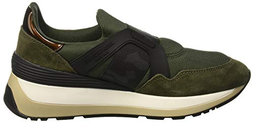 polo U Green Verde military Femme Baskets s Assn Milg Vivien 4rwxTr5q