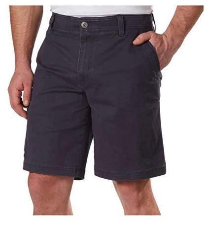 (G.H. Bass & Co.Men's Flex Waistband Stretch Shorts, Variety (40, Blue Night))
