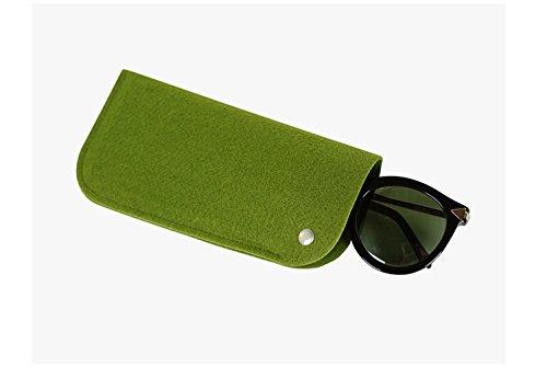 Green Cadre Lunettes soleil Case dressfan Protector de Portable Box de Polaire Box stockage Lunettes Z1YwqSO