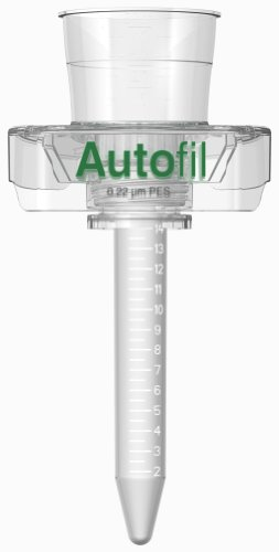 Vacuum Filter Units Pes Membrane - Autofil Sterile Disposable Centrifuge Tube Vacuum Filter Units with 0.45um PES Membrane for Prefiltration or Clarification, 50mL, 24/CS