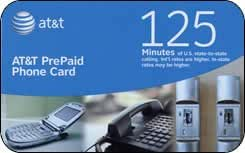 Amazon.com : At&t Prepaid Phone Card - 125 Min. : Other