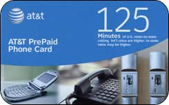 att prepaid phone card 125 - Prepaid Long Distance Phone Cards For Landlines