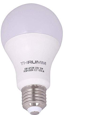 THRUMM Smart WiFi 10W White Light Bulb Compatible with Google Home and Alexa Enabled