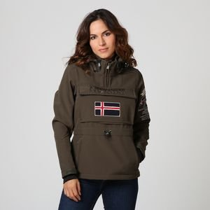 GEOGRAPHICAL NORWAY - GEOGRAPHICAL NORWAY CHAQUETA TULBEUSE color: VERDE OLIVA talla: L: Amazon.es: Deportes y aire libre