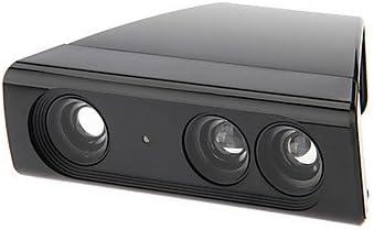 Acercar Juego adaptador Lente Gran Angular reducción de la gama para Xbox 360 Kinect Sensor reducir el espacio de la habitación (Negro): Amazon.es: Videojuegos