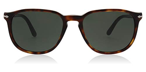 Persol PO3019S 24/31 Brown Havana PO3019S Oval Sunglasses Lens Category 3 ()