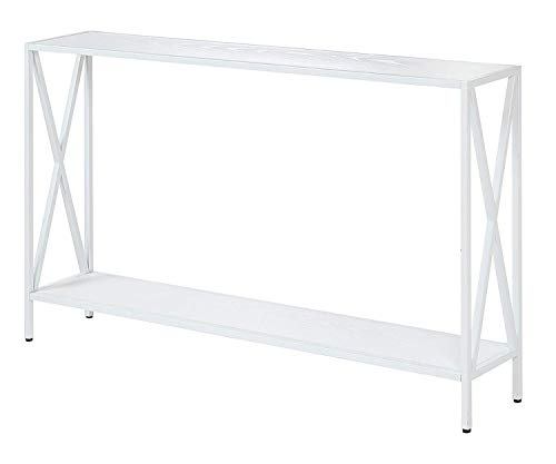 Convenience Concepts Tucson, Console Table, White (Console Table Small White)