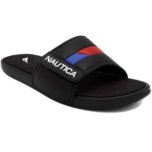 Nautica Bower 2 Sandal, Black, 9 (Zapatos Men Jordan)