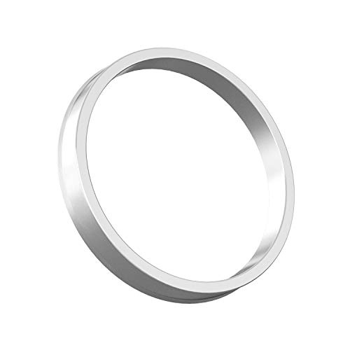 Hubcentric Rings (Pack of 4) - 64.1mm ID to 72.6mm OD - Silver Aluminum Hubrings - Only Fits 64.1mm Vehicle Hub & 72.6mm Wheel Centerbore - for many Honda Acura by StanceMagic (Image #6)