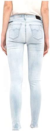 Replay Mod WX654 Hyperflex Pantalon pour Femme Bleu