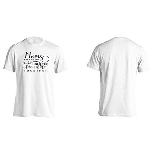 Mütter Sind Wie Nähte, Die Den Stoff Des Lebens Zusammenhalten Herren T-Shirt n405m