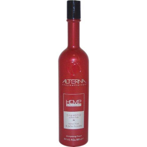 Enzymetherapy Hemp Straight Shampoo by Alterna, 10.1 Ounce