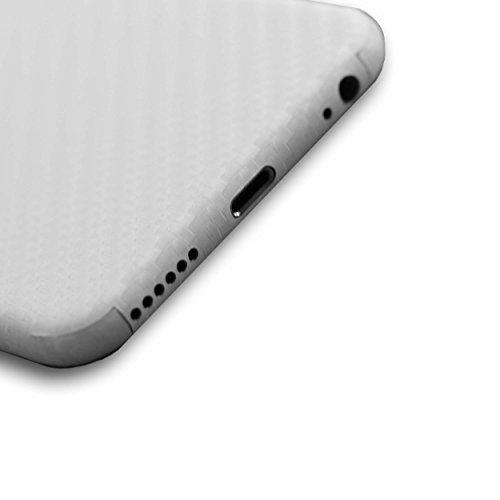 AppSkins Vorderseite iPhone 6s carbon white