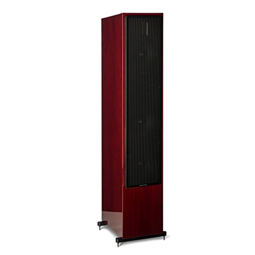 MartinLogan Motion 60XT Floor Standing Speaker – Gloss Black Cherrywood – Each