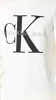 Calvin Klein Jeans Men's Reissue Logo Crew Sweatshirt