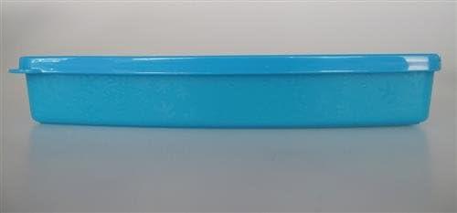 TUPPERWARE congelador-recipiente plano 600 ml azul claro ...