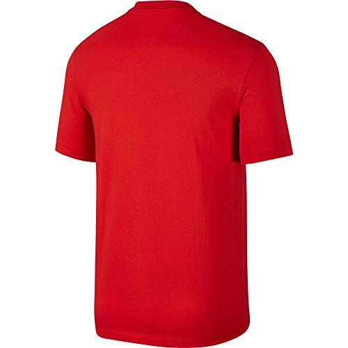 white Red Homme shirt Hbr 1 Nike University T 0p464a