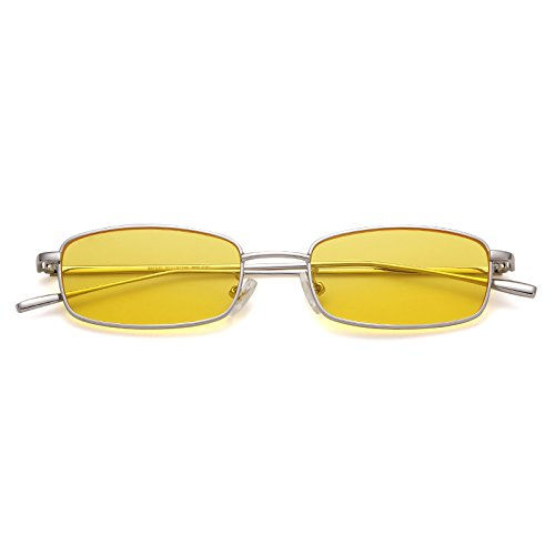 Vintage Steampunk Sunglasses Fashion Metal Frame Clear Lens Shades for Women by ADEWU (Image #5)
